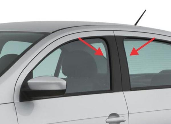 Adesivo Fibra de Carbono para coluna da porta