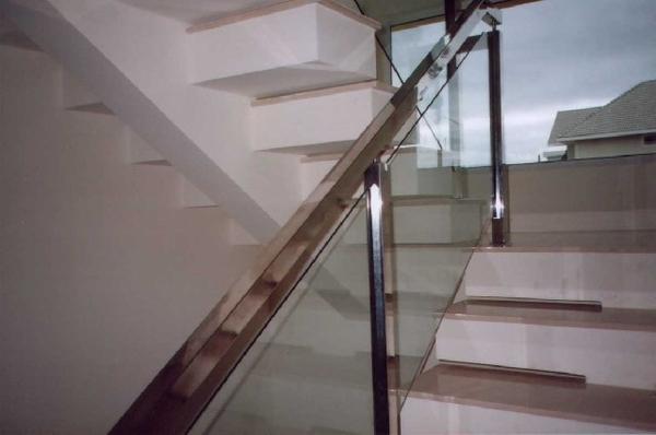 Corrimão de Inox com Vidro para Escada