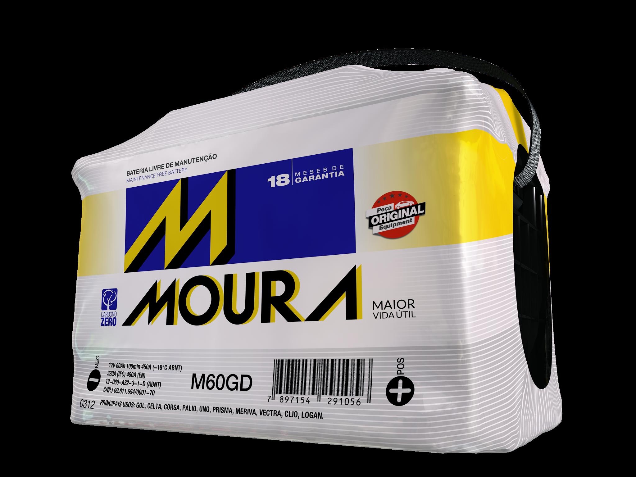 Bateria Moura 60 A