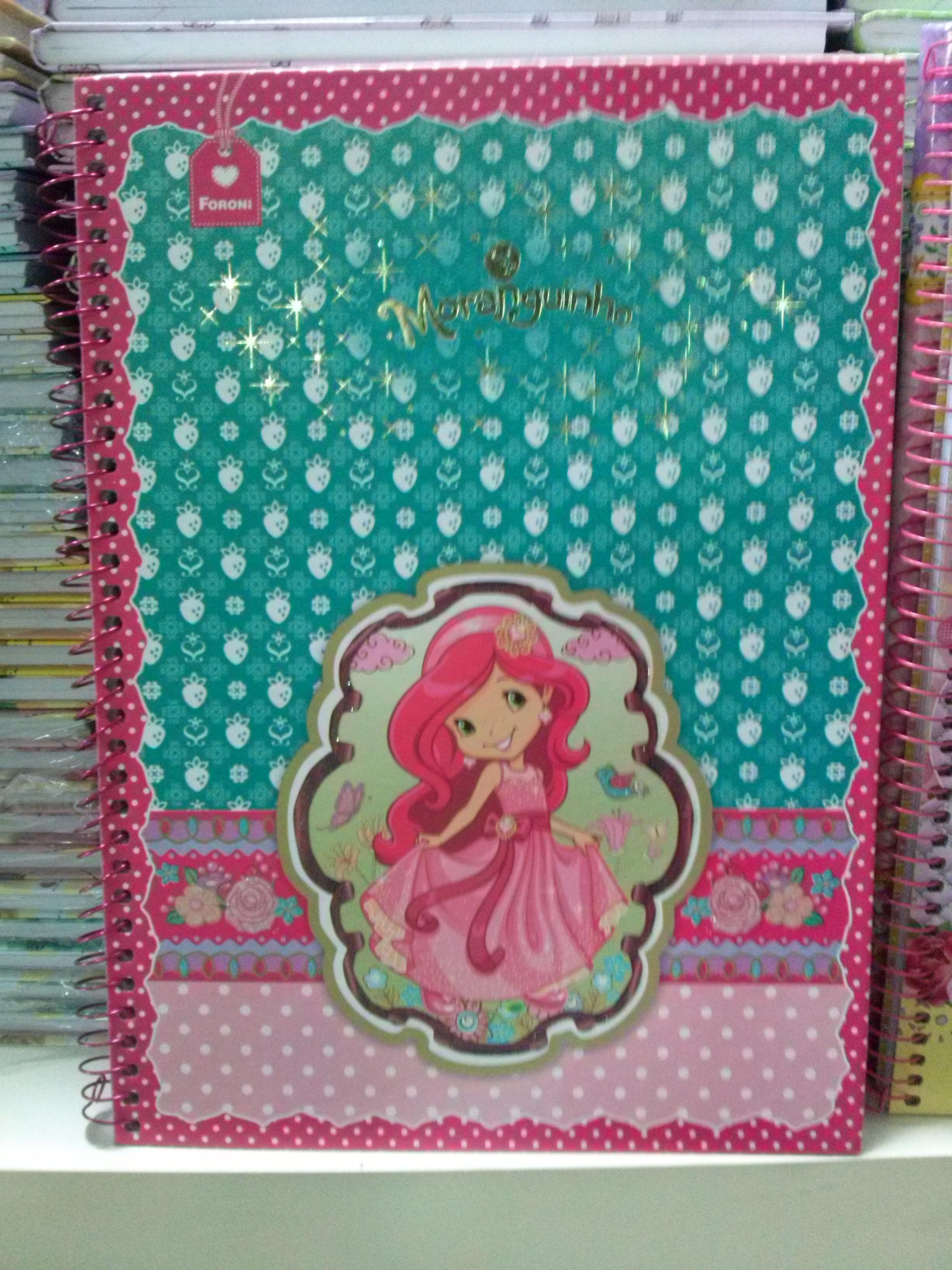 Caderno Moranguinho