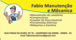 Fabio Manutenção e Mecânica