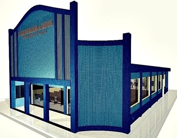Projeto 3d Igreja