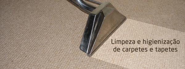 Limpeza e Higienização de Carpetes