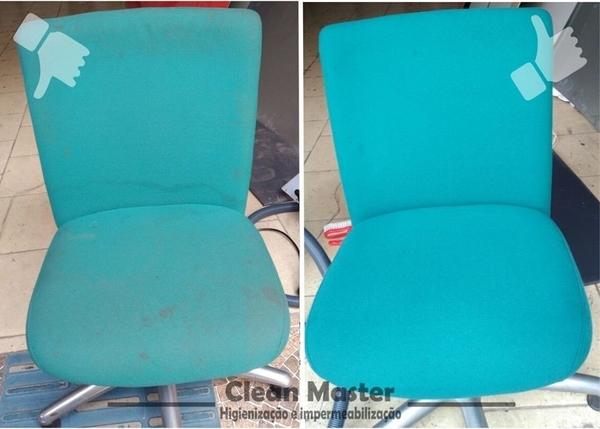 Limpeza, Higienização e Impermeabilização de Cadeiras