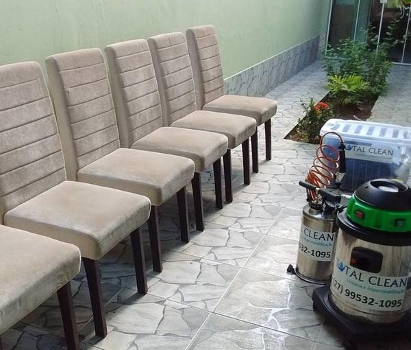 Limpeza e Impermeabilização de Cadeiras